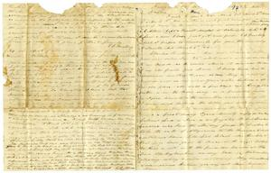 [Letter from Charles Moore to Josephus Moore, March 1864]
