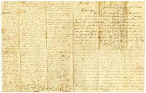 Primary view of object titled '[Letter from Josephus Moore to Charles Moore, June 26, 1864]'.