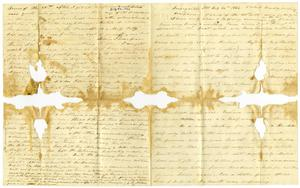 Primary view of object titled '[Letter from Charles Moore to Josephus Moore, July 12, 1864]'.