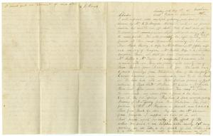 [Letter from Henry Moore to Charles Moore, August 13, 1871]