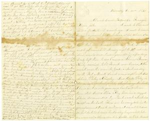 Primary view of [Letter from Elvira Moore to her family, December 20, 1871]