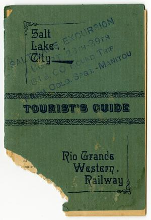 Primary view of object titled 'Salt Lake City Tourist's Guide'.