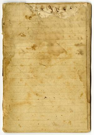 Primary view of object titled '[Charles Moore Letter Book]'.