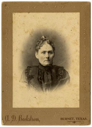 Primary view of object titled '[Portrait of an Unidentified Woman]'.