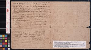 Primary view of object titled 'Articles of agreement between H.C. Hudson and Elihu Moss : Washington, [Tex.], 1838 July 17.'.