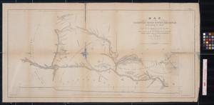Primary view of object titled 'Map of the Country Upon Upper Red-River, Explored in 1852'.