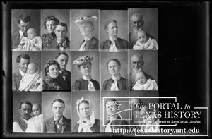 Primary view of object titled '[In-camera composite of several photographs of people, including Lon Kelley]'.