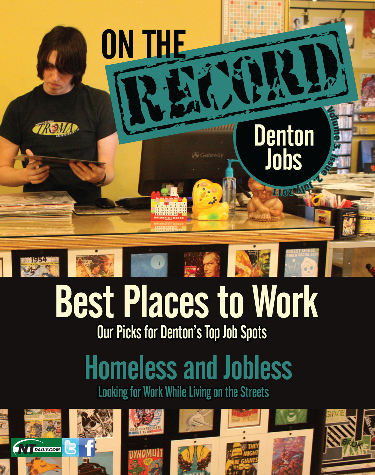 On The Record, Vol. 3, No. 2, Ed. 1 Friday, July 15, 2011                                                                                                      [Sequence #]: 1 of 39