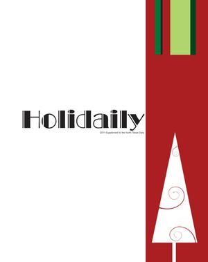 Primary view of object titled 'North Texas Daily Supplement: Holidaily, 2011'.