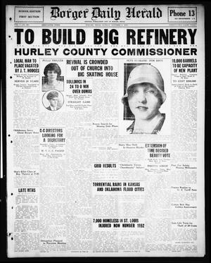 Primary view of Borger Daily Herald (Borger, Tex.), Vol. 1, No. 267, Ed. 1 Sunday, October 2, 1927