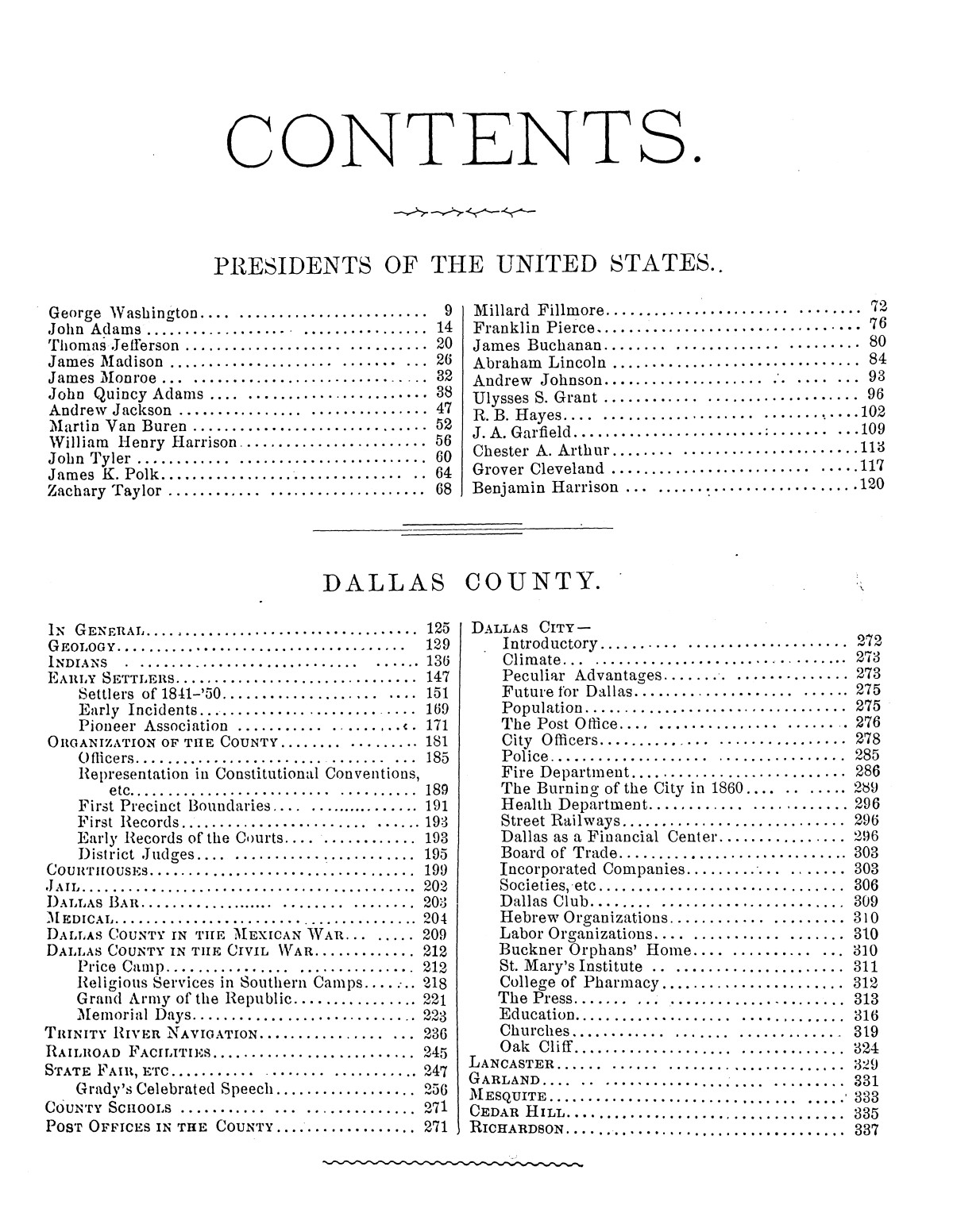 Memorial and Biographical History of Dallas County, Texas.                                                                                                      [Sequence #]: 3 of 1110