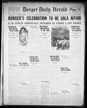Primary view of object titled 'Borger Daily Herald (Borger, Tex.), Vol. 2, No. 80, Ed. 1 Friday, February 24, 1928'.