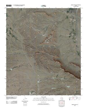 Primary view of object titled 'Babb Canyon Quadrangle'.