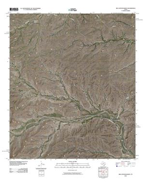 Primary view of object titled 'Big Canyon Ranch Quadrangle'.