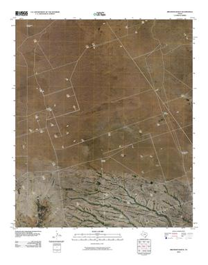 Primary view of object titled 'Brunson Ranch Quadrangle'.