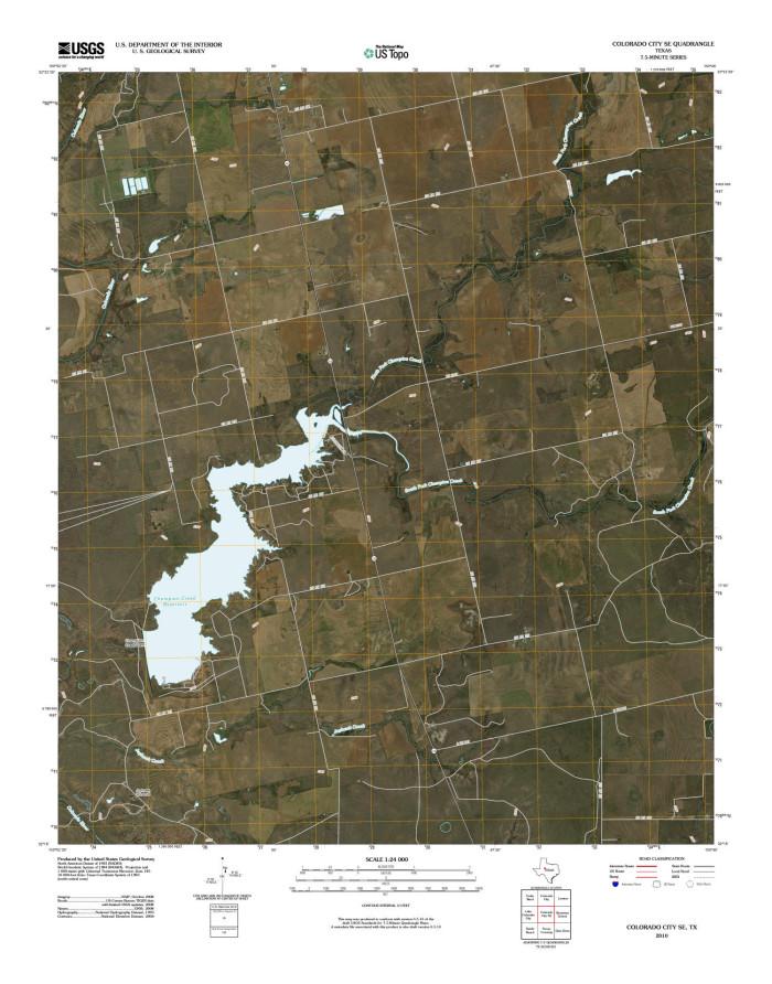 Se Colorado Map.Colorado City Southeast Quadrangle The Portal To Texas History