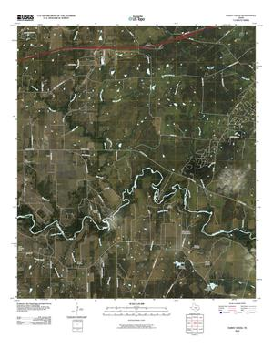 Primary view of object titled 'Darst Creek Quadrangle'.