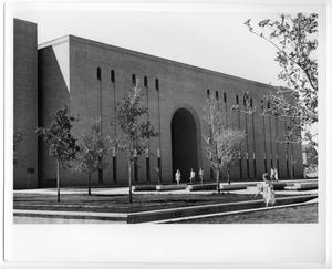 Primary view of object titled 'A.M. Willis Library, North Texas State University'.