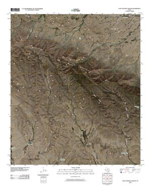 Primary view of object titled 'East Hunter Canyon Quadrangle'.