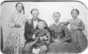 Primary view of object titled 'Harvey R. Sparger and His Family'.