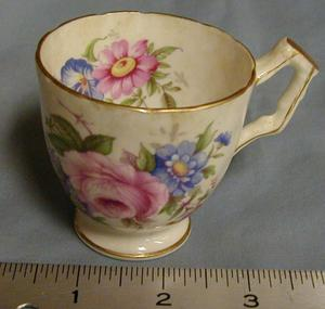 Primary view of [Aynsley bone china coffee cup]