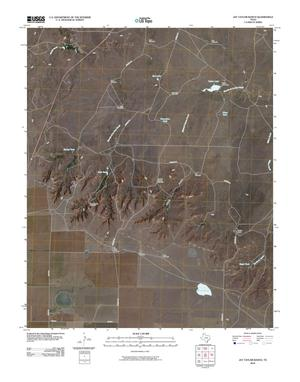 Primary view of object titled 'Jay Taylor Ranch Quadrangle'.