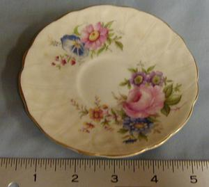 Primary view of [Aynsley bone china saucer]