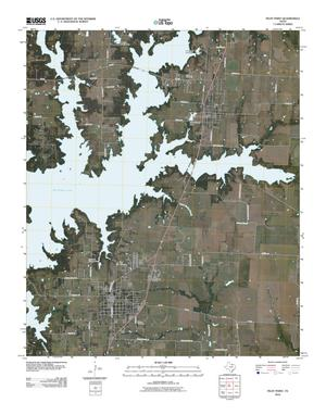 Primary view of object titled 'Pilot Point Quadrangle'.