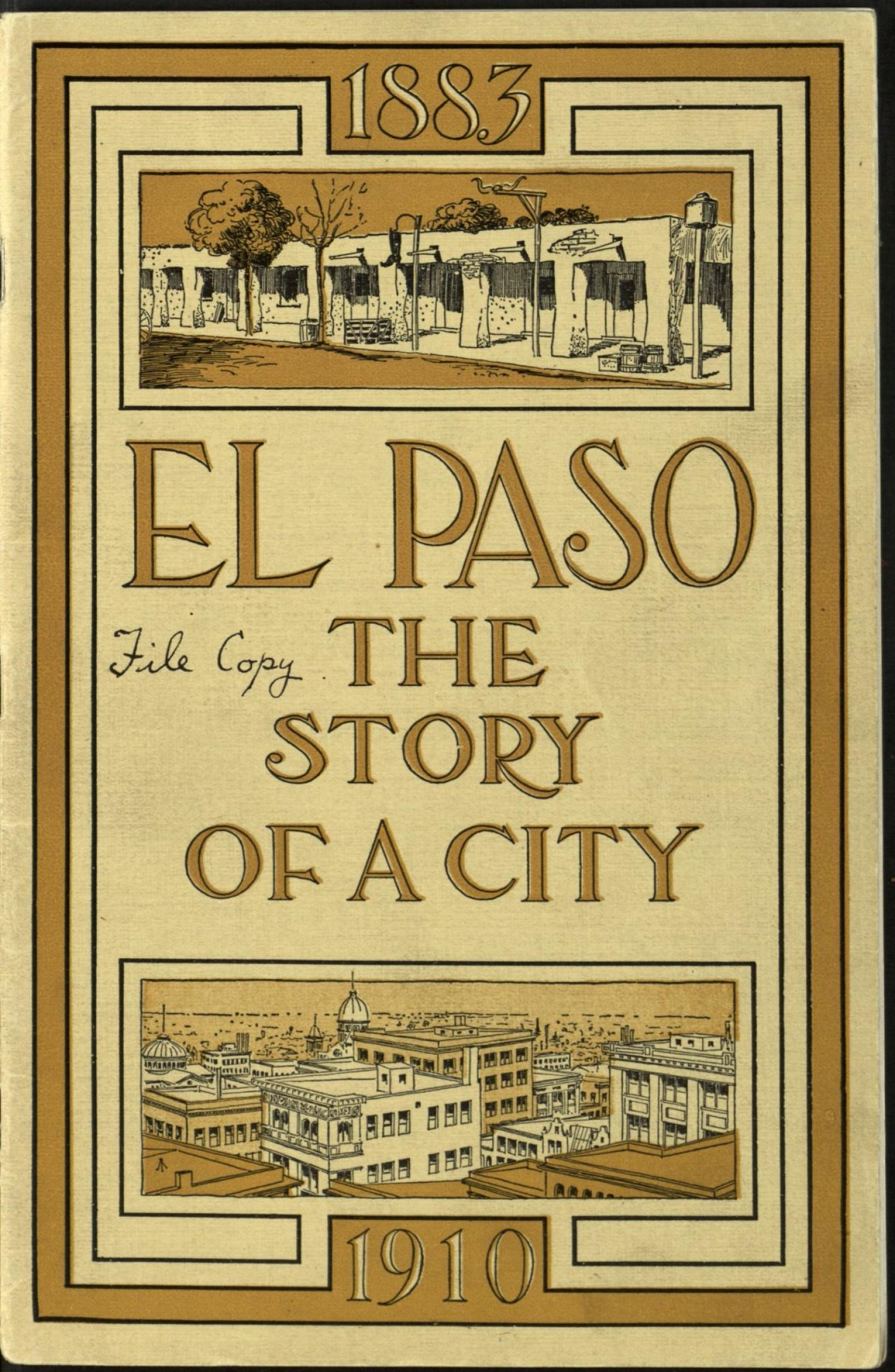 [El Paso: The Story of a City]                                                                                                      Front Cover