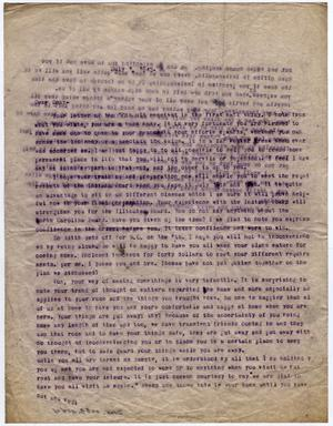 Primary view of object titled '[Letter from Dr. Edwin D. Moten to Don Moten, July 1, 1943]'.