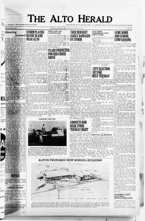 Primary view of object titled 'The Alto Herald (Alto, Tex.), No. 41, Ed. 1 Thursday, March 27, 1952'.