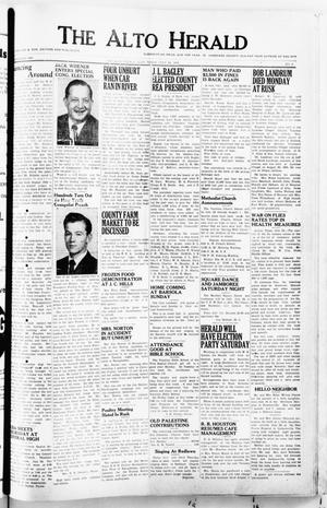The Alto Herald (Alto, Tex.), No. 6, Ed. 1 Thursday, July 24, 1952