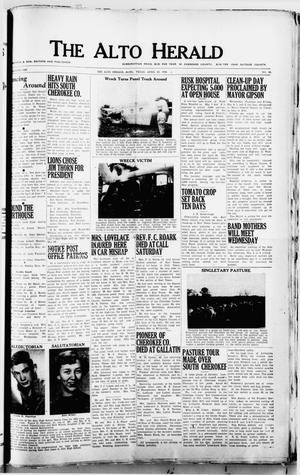 The Alto Herald (Alto, Tex.), No. 46, Ed. 1 Thursday, April 30, 1953