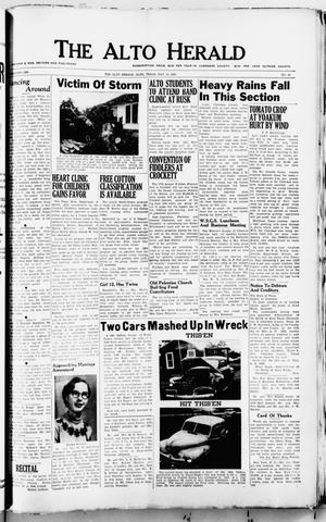 Primary view of object titled 'The Alto Herald (Alto, Tex.), No. 48, Ed. 1 Thursday, May 14, 1953'.
