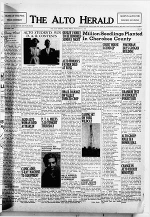 The Alto Herald (Alto, Tex.), No. 36, Ed. 1 Thursday, February 17, 1955