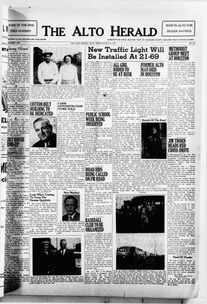 Primary view of object titled 'The Alto Herald (Alto, Tex.), No. 39, Ed. 1 Thursday, March 10, 1955'.