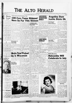The Alto Herald (Alto, Tex.), No. 3, Ed. 1 Thursday, June 28, 1956