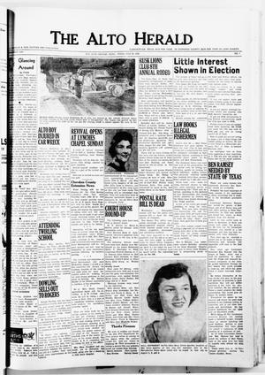 The Alto Herald (Alto, Tex.), No. 7, Ed. 1 Thursday, July 26, 1956