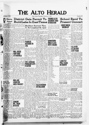 The Alto Herald (Alto, Tex.), No. 35, Ed. 1 Thursday, February 7, 1957