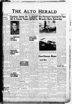 The Alto Herald (Alto, Tex.), No. 30, Ed. 1 Thursday, January 1, 1959