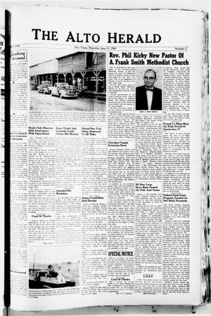 The Alto Herald (Alto, Tex.), No. 2, Ed. 1 Thursday, June 15, 1961