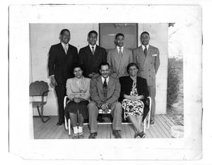 Lloyd Logan, Sr. and family, 1948
