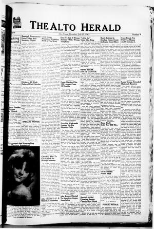 The Alto Herald (Alto, Tex.), No. 8, Ed. 1 Thursday, July 25, 1963