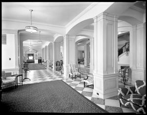 Primary view of object titled '[Lobby of present Stoddard Hall]'.