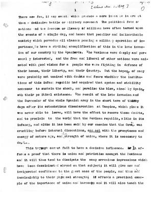 transcript of essay concerning mexican independence from the thumbnail image of item number 1 in transcript of essay concerning mexican independence