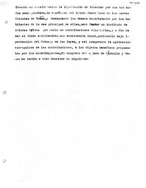 Primary view of object titled '[Transcript of a Governmental Decree]'.