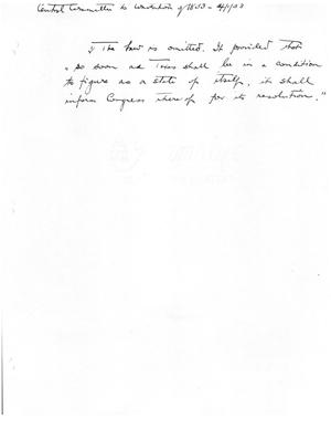Primary view of object titled '[Transcript of a Handwritten Note]'.