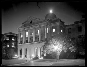 Primary view of object titled '[Administration Building at Texas State College for Women]'.