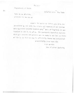 Primary view of [Transcript of Letter from Stephen F. Austin to William H. Wharton, December 14, 1836]