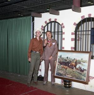 Primary view of [Two Men at All American Quarter Horse Congress]